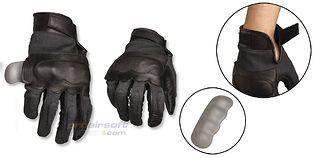 Mil-Tec aramid käsineet, musta (S)