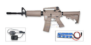 G&G CM16 Carbine sähköase, hiekka