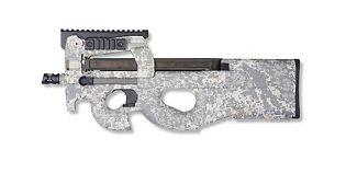 King Arms P90 tactical, ACU