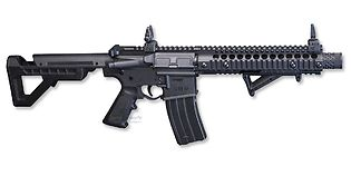 Crosman M4 DPMS SBR 4.5mm (blowback sarjatuli)
