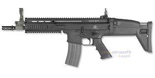 Cybergun FN SCAR-L sähköase, musta
