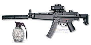 ASG MP5A5 7.2V sähköase