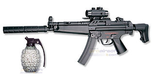 ASG MP5A5 sähköase