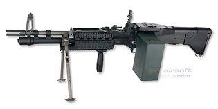 ASG M60E4/MK43 sähköase
