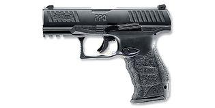 Umarex Walther PPQ M2 4.5mm pistooli, rihlattu piippu