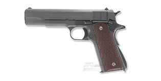 Marui Colt M1911A1 Government blowback kaasupistooli