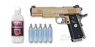 ASG STI Tac Master blowback CO2 pistooli, hiekka