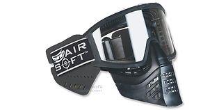 JT Tactical Airsoft maski, musta