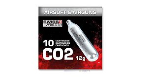 Swiss Arms CO2 kapseli (10kpl)