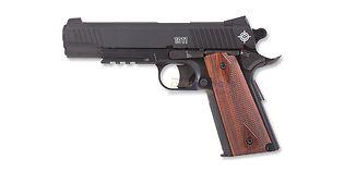 Crosman M1911 CO2 ilmapistooli 4.5mm, rihlattu piippu, musta