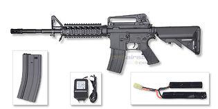 Cybergun Colt M4 RIS sähköase, kuiturunko