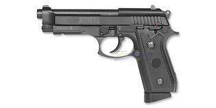 Swiss Arms M92 ilmapistooli 4.5mm CO2, musta