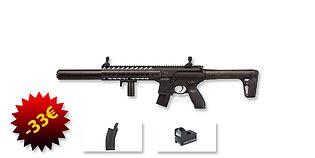 Sig Sauer MCX ilmakivääri 4.5mm paketti, musta