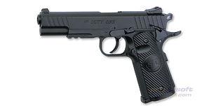 ASG STI Duty One CO2 pistooli, metalli kiinteä luisti