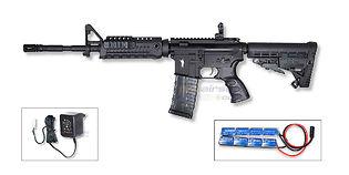 CAA M4 Carbine sähköase, musta