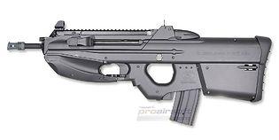 G&G FN2000 Tactical (Mosfet), musta