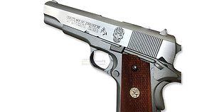Cybergun Colt M1911 Mexican Skull blowback CO2 pistooli, metalli