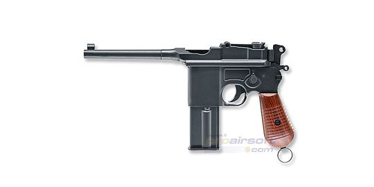 Umarex Mauser C96 4.5mm CO2, metalli