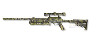 ASG Urban Sniper jousitoiminen kivääri, vihreä camo