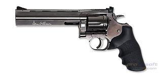 """ASG Dan Wesson 715 rihlattu harmaa 6"""" 4.5mm Co2"""