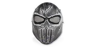 Diablo Chastener maski, hopea/musta