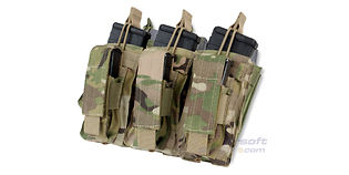 Condor kenguru tripla tasku (M4+pistooli), multicam