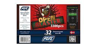 ASG Open Blaster biokuula 0,32g 3300kpl