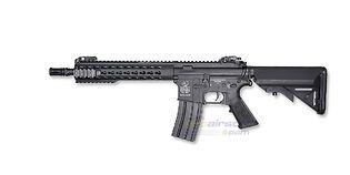 "Cybergun Colt M4 Keymod 10"" sähköase, lyhyt"