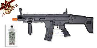Cybergun SCAR jousitoiminen kivääri, musta