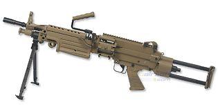 Cybergun FN M249 Para konekivääri, hiekka