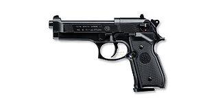 Umarex Beretta M92 FS ilmapistooli 4.5mm CO2, rihlattu piippu, musta