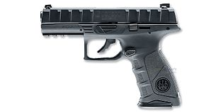 Umarex Beretta APX 4.5mm CO2, musta metalli
