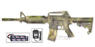 ASG M15A4 sähköase, vihreä camo