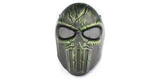 Diablo Chastener maski, vihreä/musta