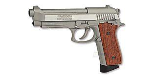 Swiss Arms M92 4,5mm CO2, metalli hopea
