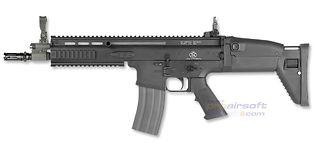 Cybergun FN SCAR-L sähköase, metalli, musta