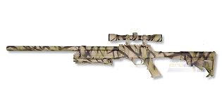 ASG Urban Sniper jousitoiminen kivääri, hiekka camo