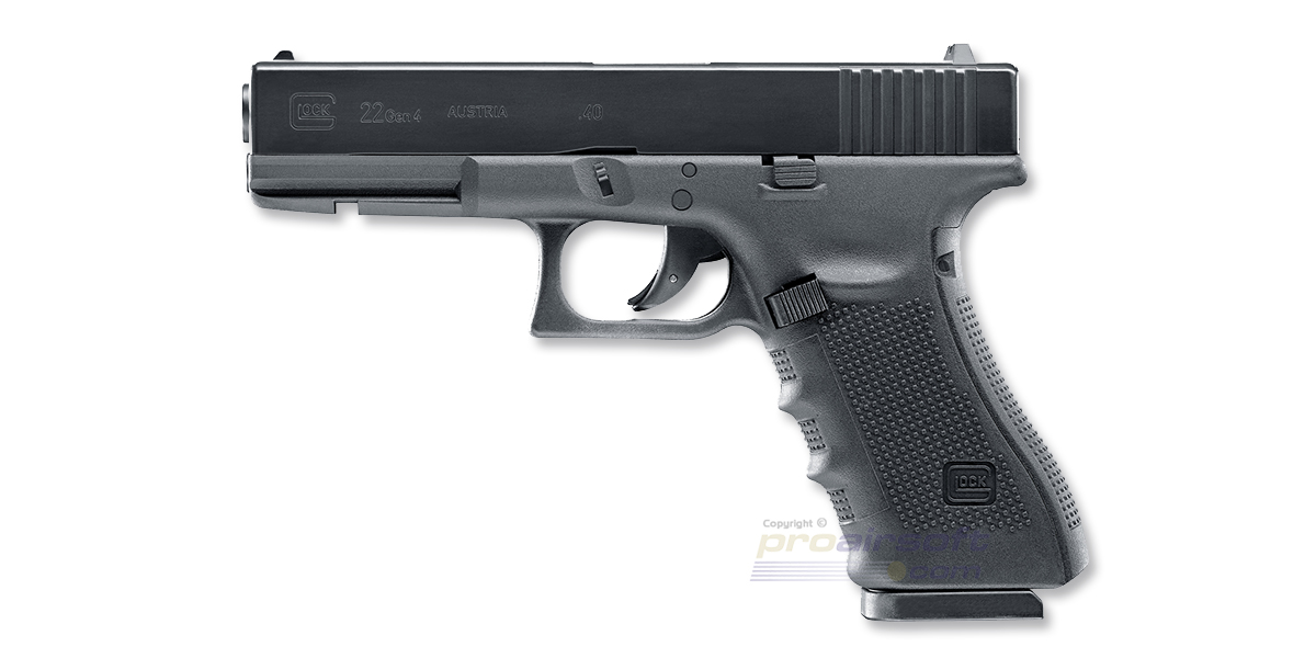 Umarex Glock 22 4.5mm CO2, metalli