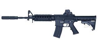 Cybergun M4 RIS mini guns collection
