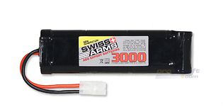 Swiss Arms 8.4V 3000mAh lagre akku