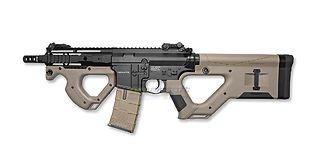 ASG-Hera Arms CQR SSS sähköase (Mosfet), hiekka