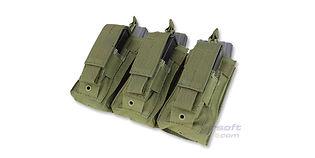 Condor kenguru tripla tasku (M4+pistooli), vihreä