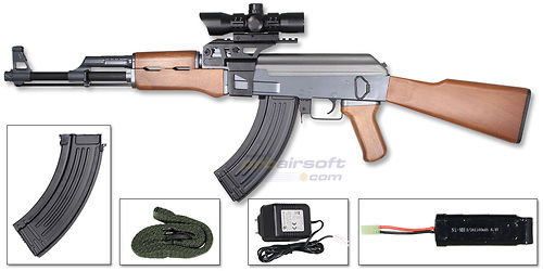 ASG AK47 - ProAirsoft - Suomen johtava airsoftliike