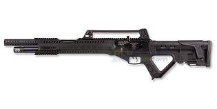 Hatsan Invader Semiauto PCP ilmakivääri 6.35mm, musta