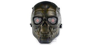 Diablo Terminaattori maski, pronssi