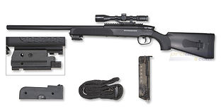 Cybergun Firepower Black Eagle M6 jousitoiminen kivääri