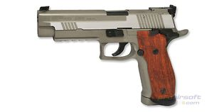 Cybergun Sig Sauer P226 X-Five 4,5mm CO2, metalli hopea
