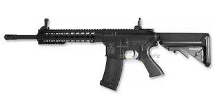 "Cybergun Colt M4 Keymod 10"" sähköase, polymeeri"