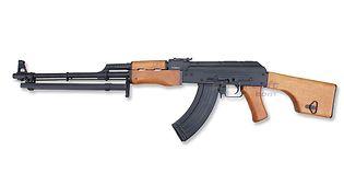 RPK-74 konekivääri, metalli/puu
