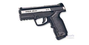 ASG Steyr M9-A1 4.5mm CO2, metalli dualtone